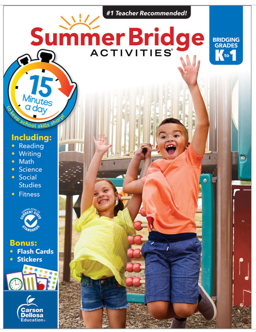 Summer Bridge Activities K-1 (Students entering Primary 2)