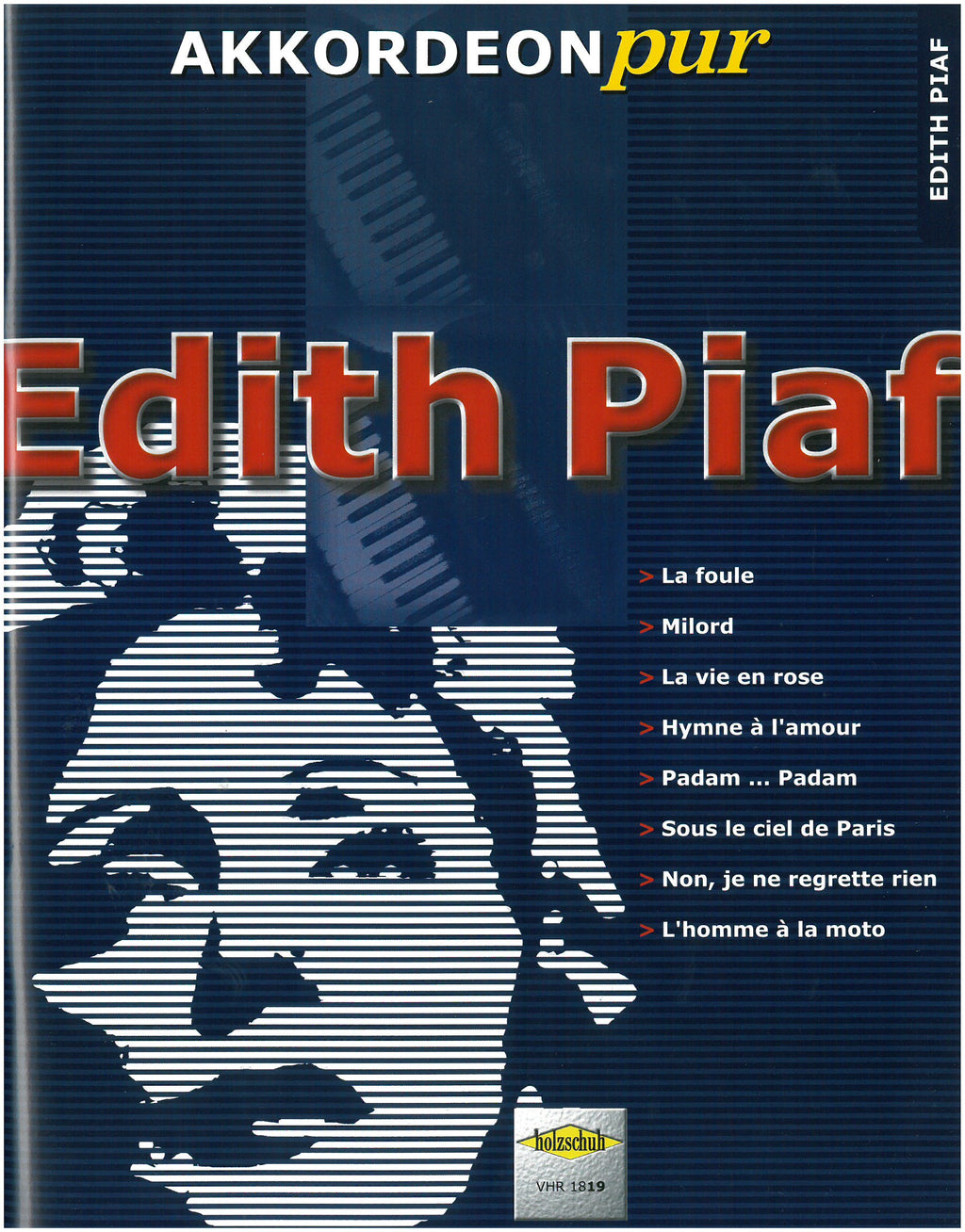Edith Piaf Accordion Cover