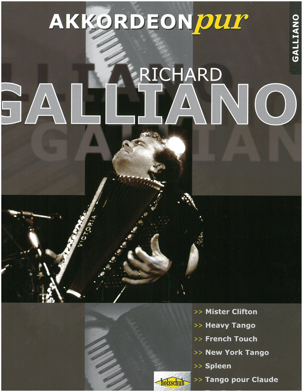 Richard Galliano Accordion Cover