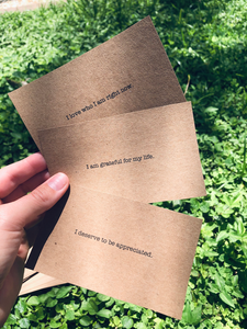 Mindset Affirmation Cards