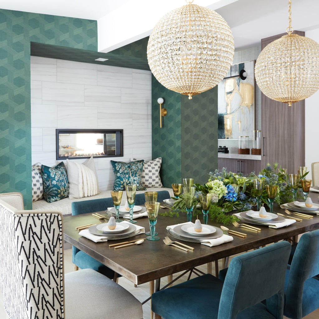 5 Spring Tablescapes to Bring Your Space to Life, Design by Keith Fortner for Christopher Kennedy Inc., Photography by Matt Sartain