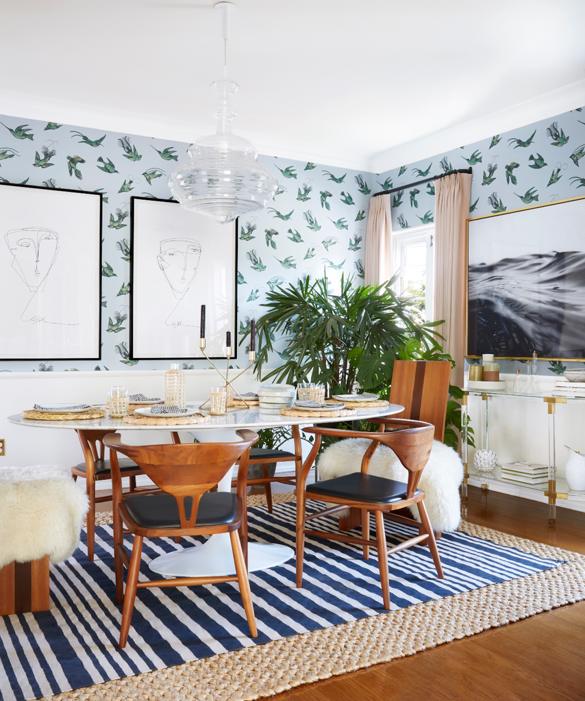 Stripes to Style Your Space with This Summer, Design by Dee Murphy | Murphy Deesign, Photography by Zeke Ruelas