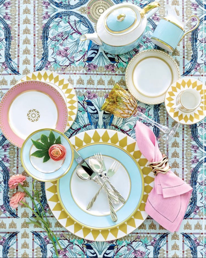 Spring Tablescapes to Bring Your Space to Life, Table design by Flower Magazine, Photography by David Hillegas