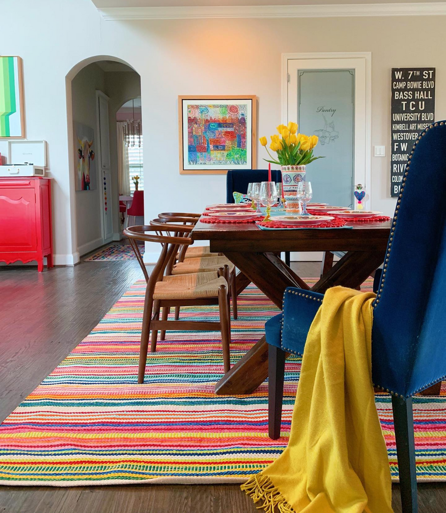 Stripes to Style Your Space with this Summer, Interior by Shauna Glenn Design
