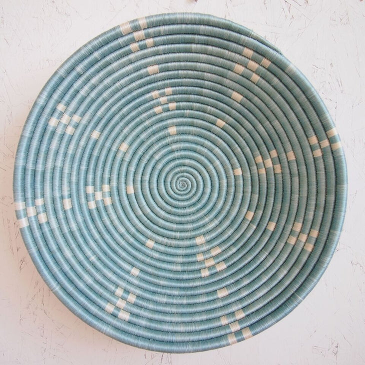 Shop Stacy Garcia_Accessories_Bowl_Light Blue X Large Woven Bowl