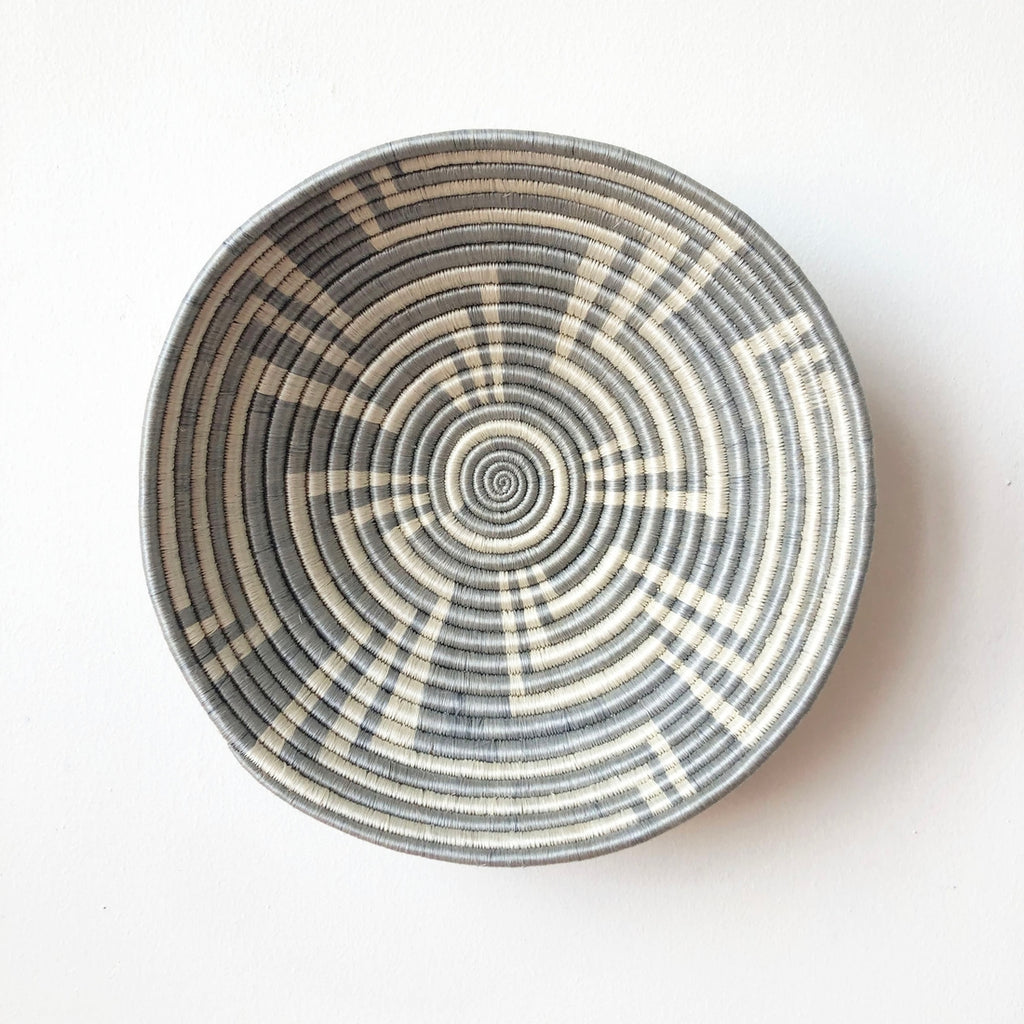 Shop Stacy Garcia, Grey Patterned Woven Bowl