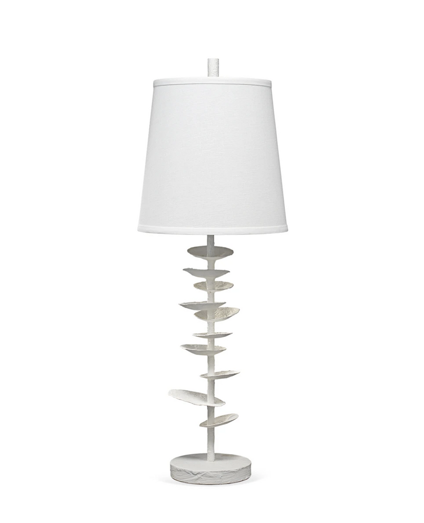 Shop Stacy Garcia, White Saucer Table Lamp
