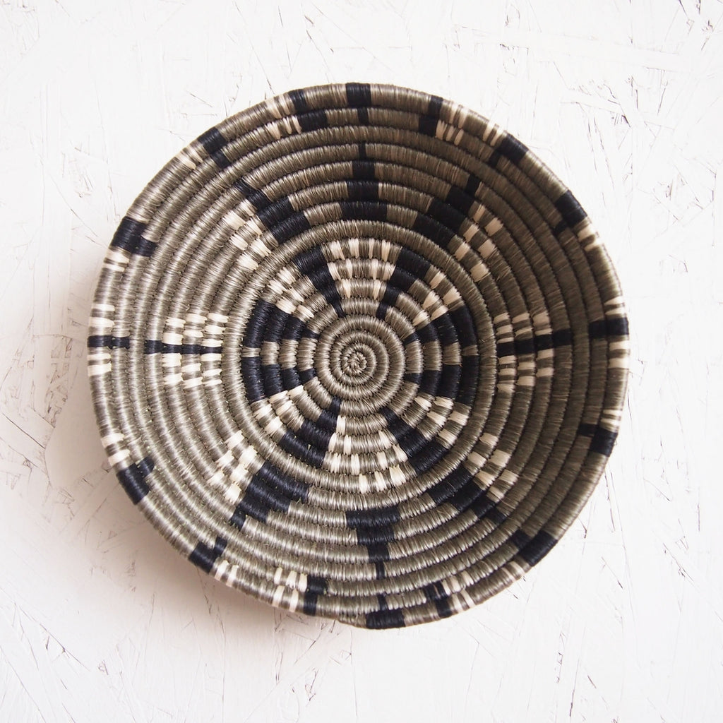 Shop Stacy  Garcia_Accessories_Bowls_Dark Neutral Small Woven Bowl