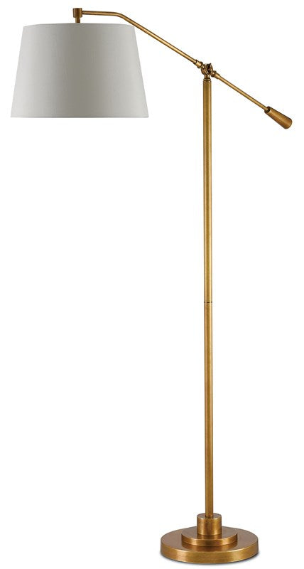 Shop Stacy Garcia Adjustable Antique Brass Floor Lamp