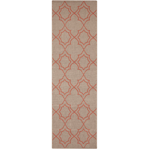 Shop Stacy Garcia, Beige & Orange Patterned Outdoor Rug Runner