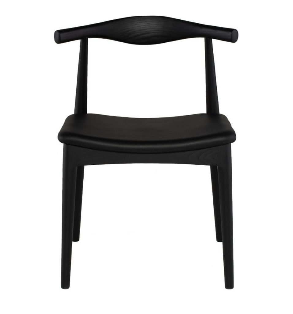 Shop Stacy Garcia, Black Wooden Mid-Century Dining Chair