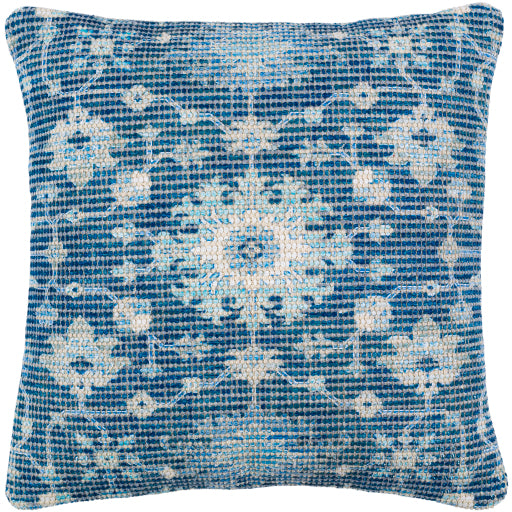 Shop Stacy Garcia, Blue Floral Print Pillow