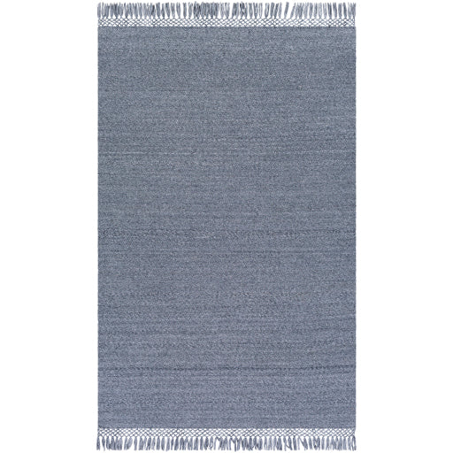 Shop Stacy Garcia, Steel Blue Fringe Outdoor Area Rug