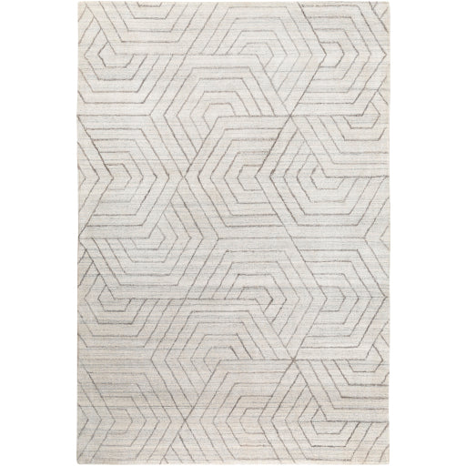 Shop Stacy Garcia, Cream Geometric Patterned Area Rug