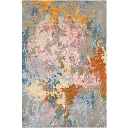 Shop Stacy Garcia, Multicolor Abstract Hand Knotted Area Rug