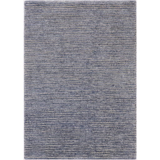 Shop Stacy Garcia, Navy Blue Ribbed Area Rug