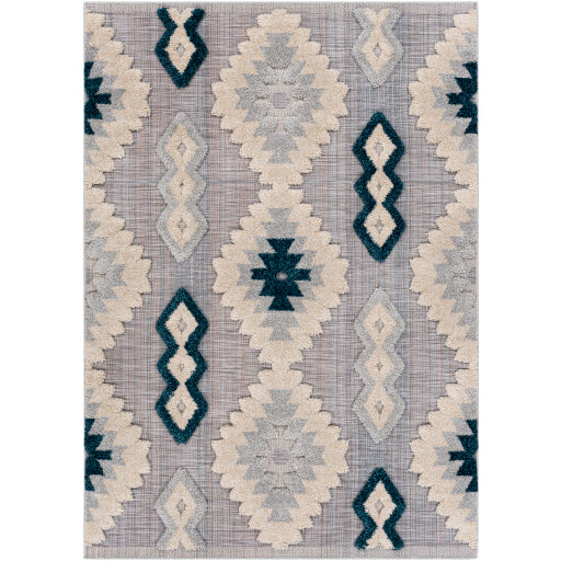 Shop Stacy Garcia, Purple & Teal Dimensional Outdoor Area Rug