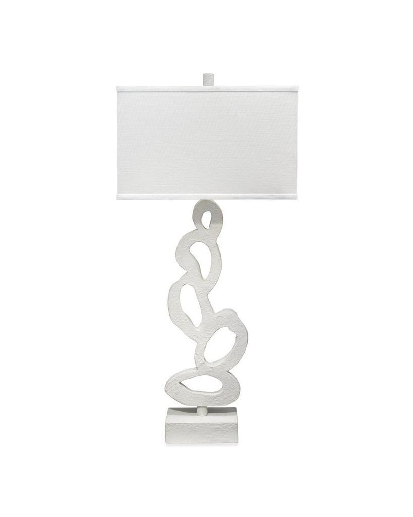 Shop Stacy Garcia, White Plaster Table Lamp