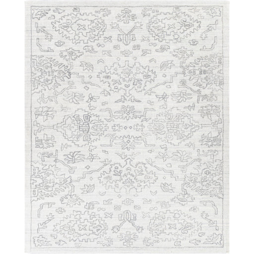 Shop Stacy Garcia, White and Black Intricate Patterned Area Rug