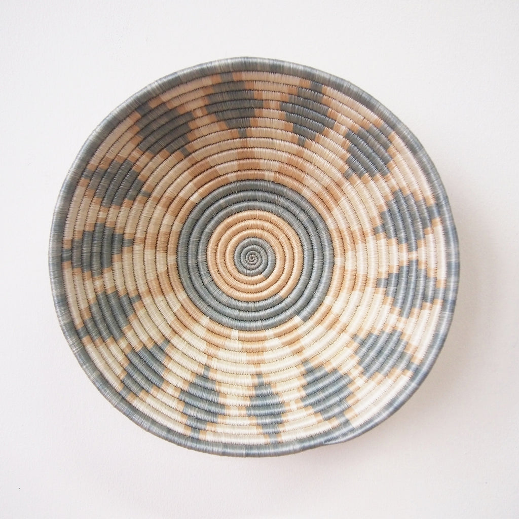 Shop Stacy Garcia, Grey & Beige Woven Bowl