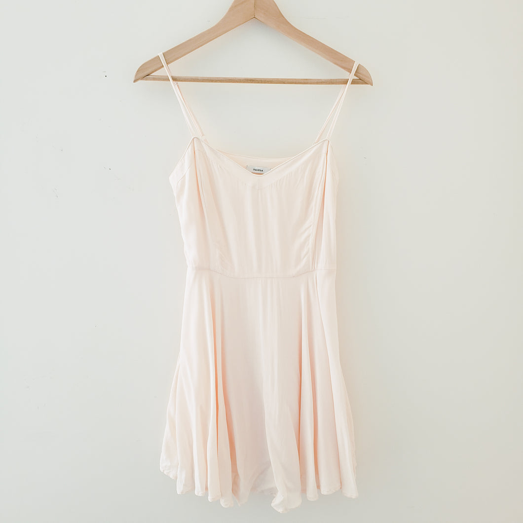 Aritzia Talula Pink Mini Dress