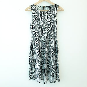H&M Zebra Print Dress