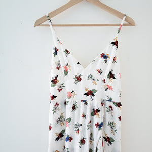 Pull & Bear Floral Maxi With Shorts