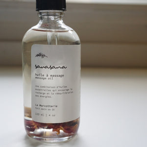 Savasana - La Marcotterie Massage Oil