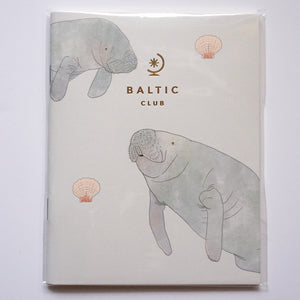 Manatees - The Baltic Club Pocket Notebook