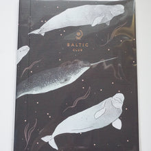 Load image into Gallery viewer, Belugas & Narwhals - The Baltic Club Notebook