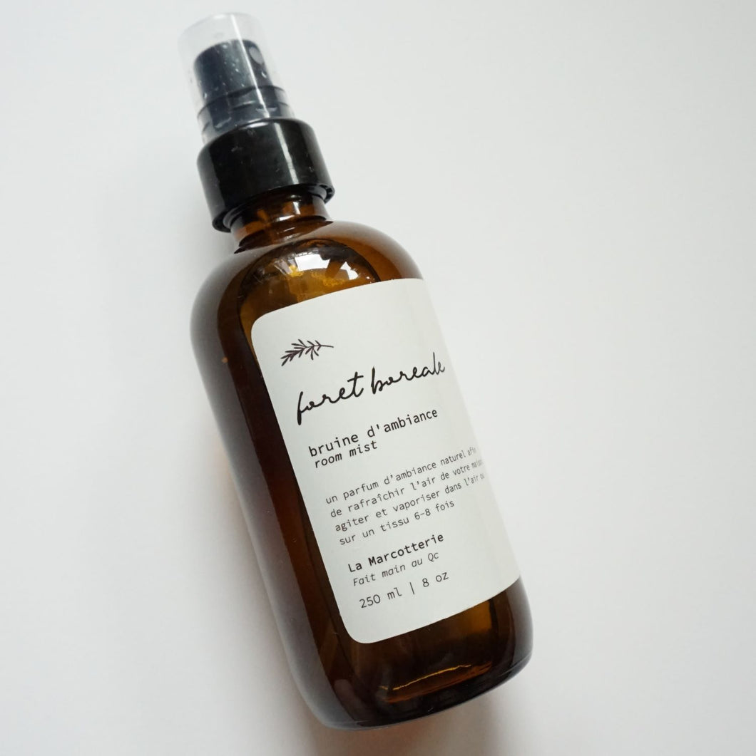 la marcotterie boreal forest room spray 8oz
