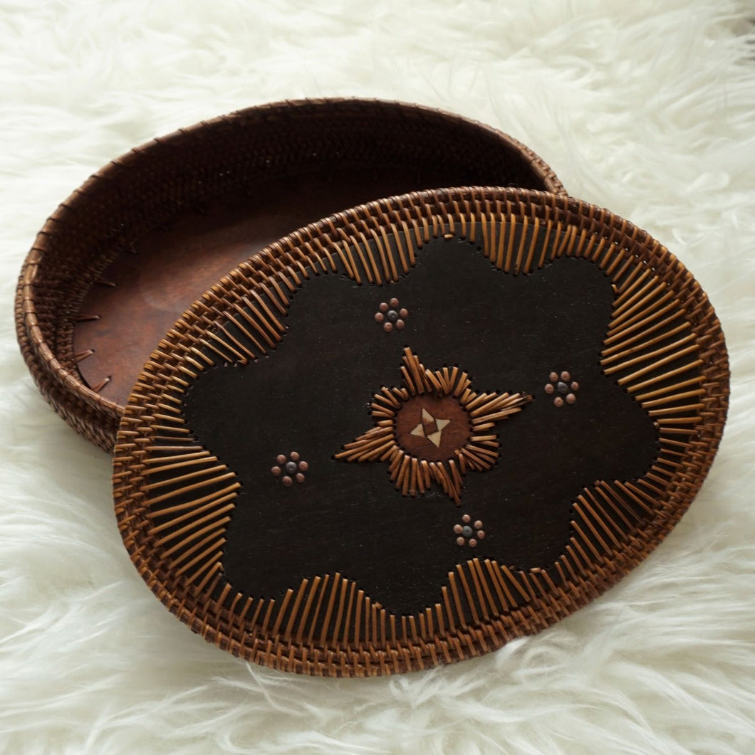 Oval Weaved Basket