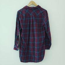 Load image into Gallery viewer, H&M L.O.G.G Purple Plaid Flannel