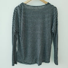 Load image into Gallery viewer, Opus Striped Long Sleeve Top