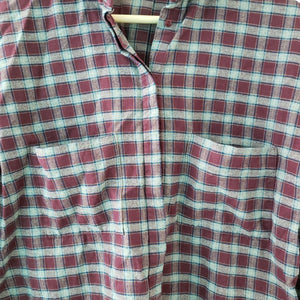 Zara Trafaluc Plaid Flannel Button Down Shirt