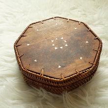 Load image into Gallery viewer, Hexagonal Boho Basket