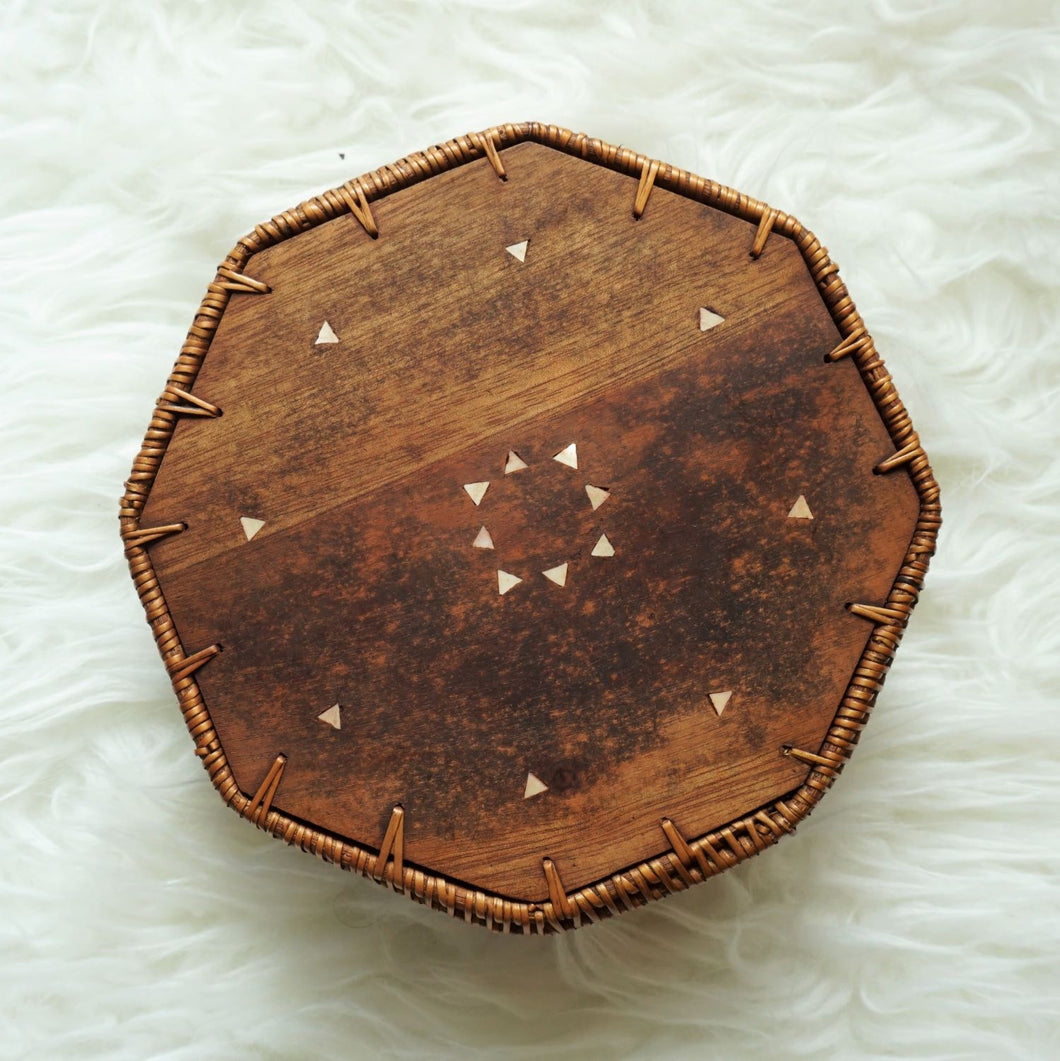 Hexagonal Boho Basket