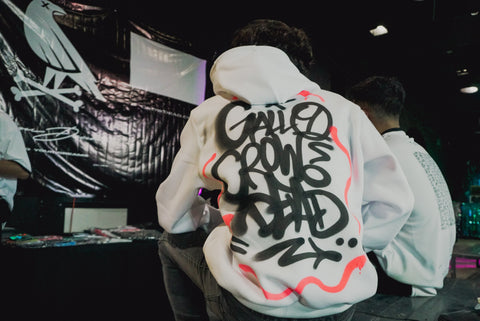 Crowdead customized hoodie as Curatto.