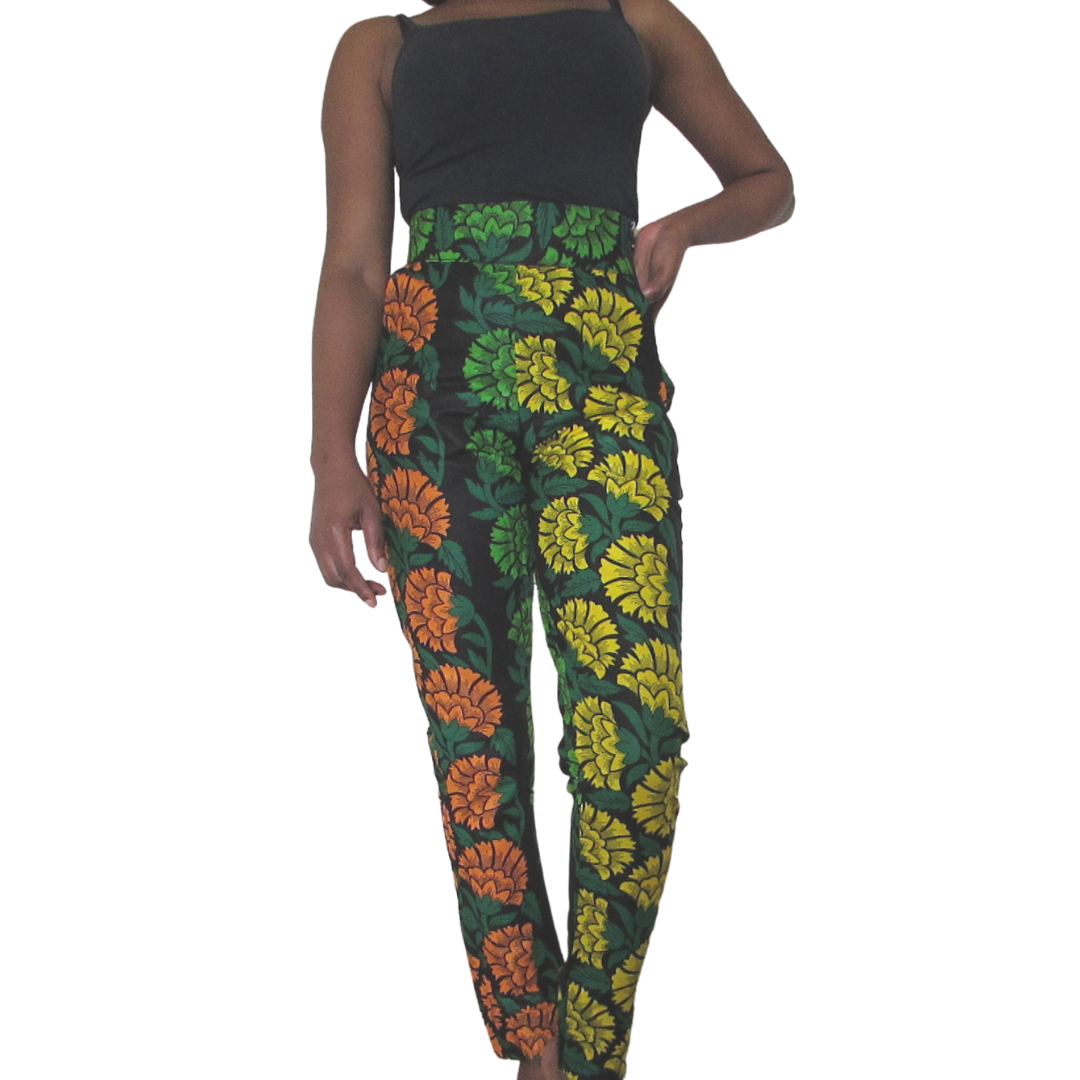 Kara Pencil Pants| ankara pants - Timeless Springs