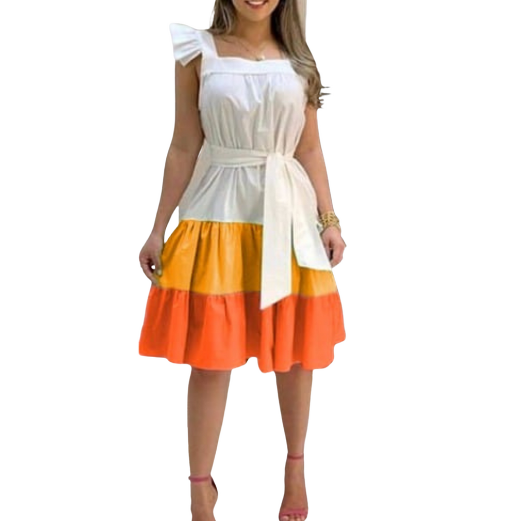 Simi Baby Doll Dress | Multicolored Baby Doll Dress - Timeless Springs