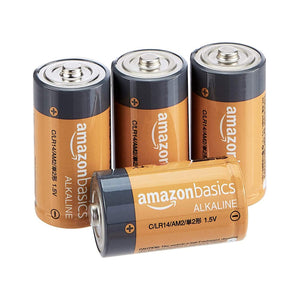 D Cell Batteries 4 Pack