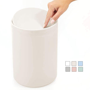 Plastic Trash Can with Lid