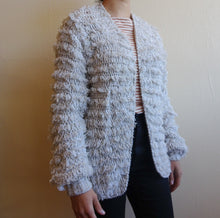 Load image into Gallery viewer, Vintage Shaggy Cardigan Sweater