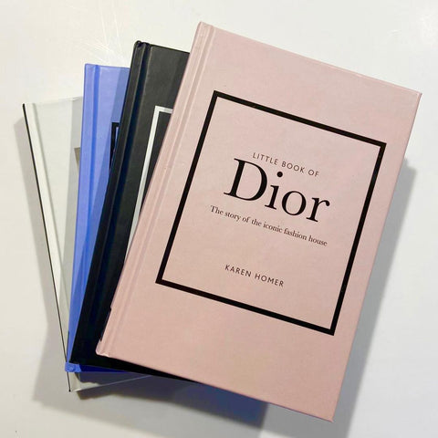 Collection of Fashion Designer Decorative Books