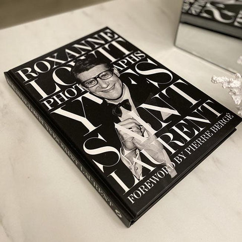 Yves Saint Laurent YSL Monochrome Decorative Book