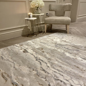 Astoria Warm Neutral Luxury Rug Rug
