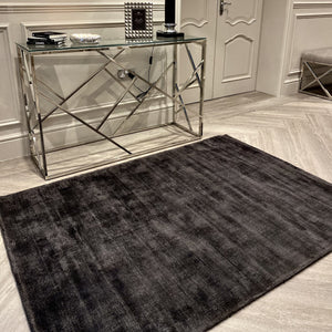 Blade Charcoal Distressed Rug