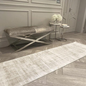 Blade Putty Distressed Runner Rug