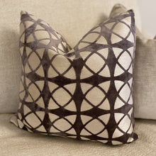 Load image into Gallery viewer, Fergus Spiral Grey Cushion Cushion