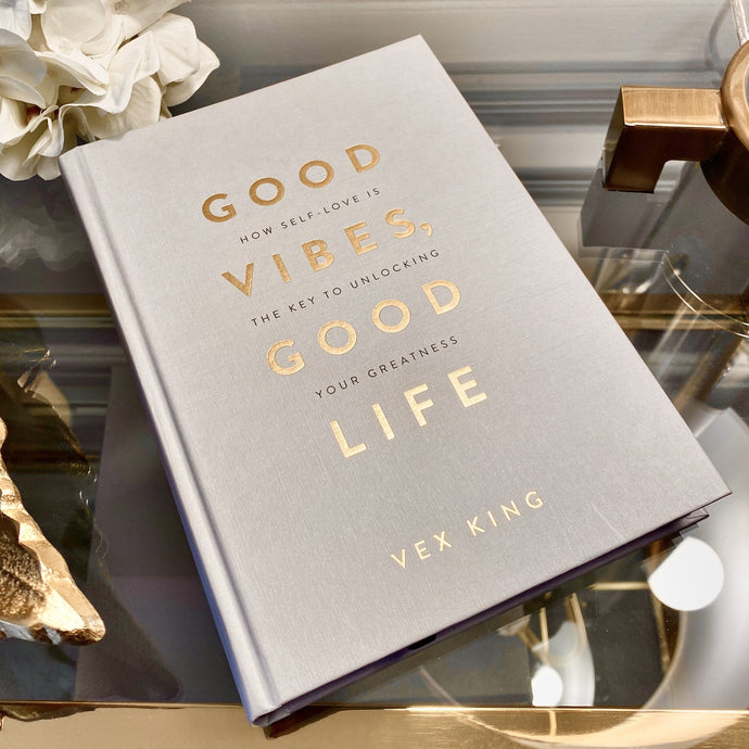 Good Vibes White & Gold Coffee Table Book Books